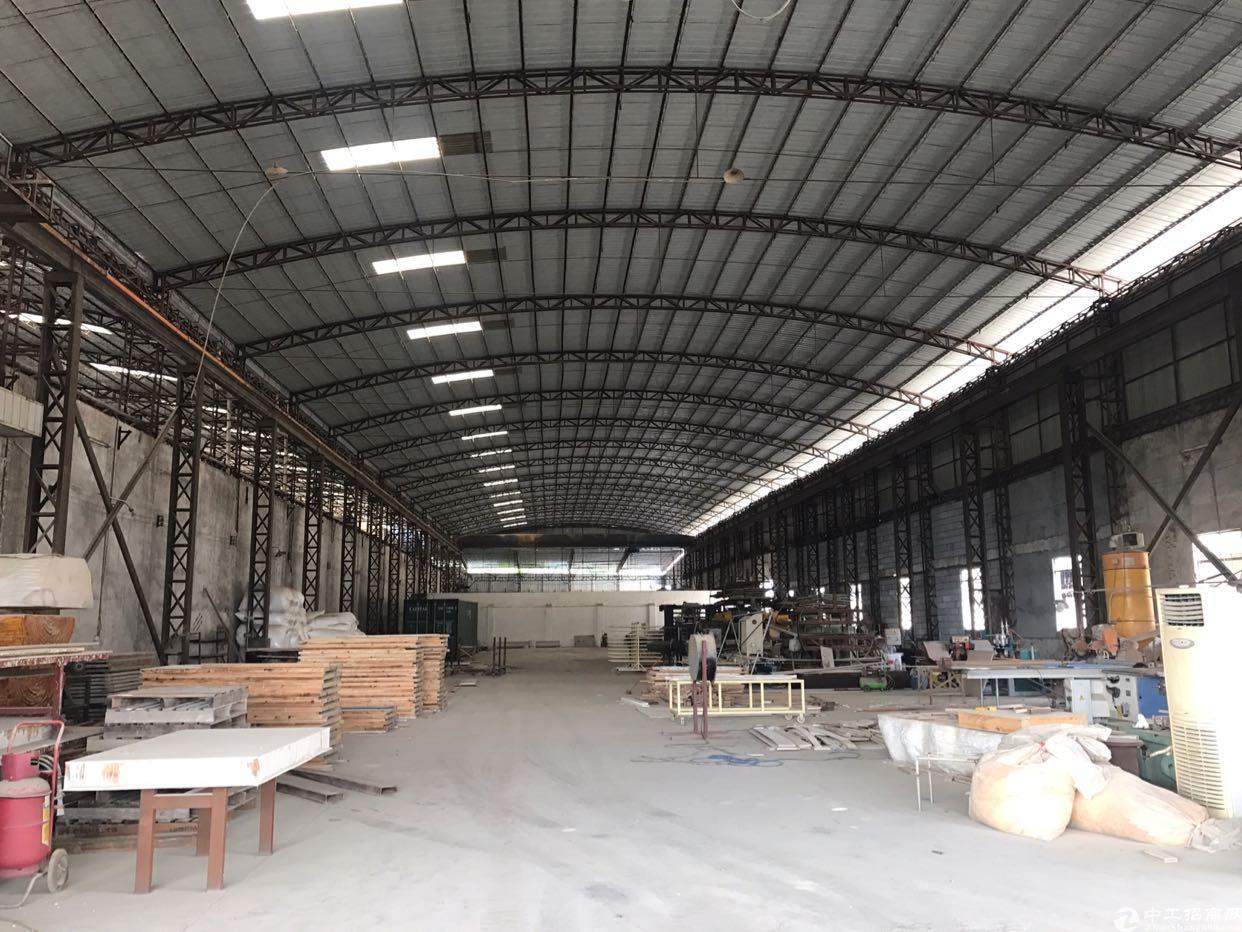 大岭山高速口42亩国有证单一层厂房出售