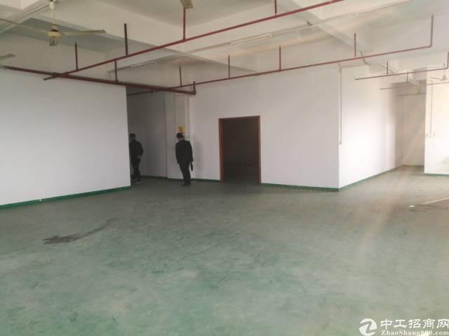 沙井大王山新出二楼带装修厂房330平方厂房出租