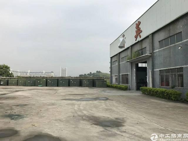 松岗燕川广田路边带5吨行车钢构厂房2000平招租
