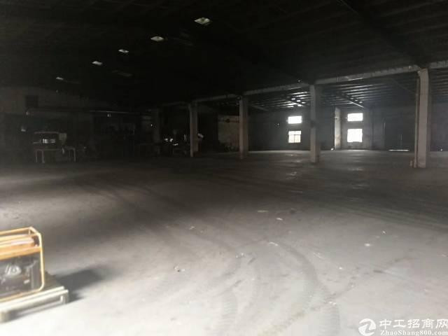 惠州市惠阳区现有独门独院标准单一层转让到顶厂房招租-图3