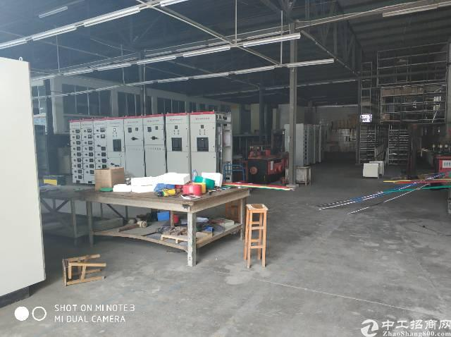 西乡铁岗2980平钢构厂房出租