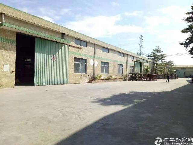 坪山坑梓钢构厂房2300平米出租