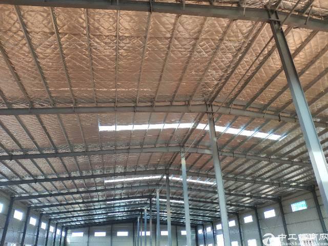 惠东平山新建好独院钢构厂房8500平,滴水10米高(证件齐)