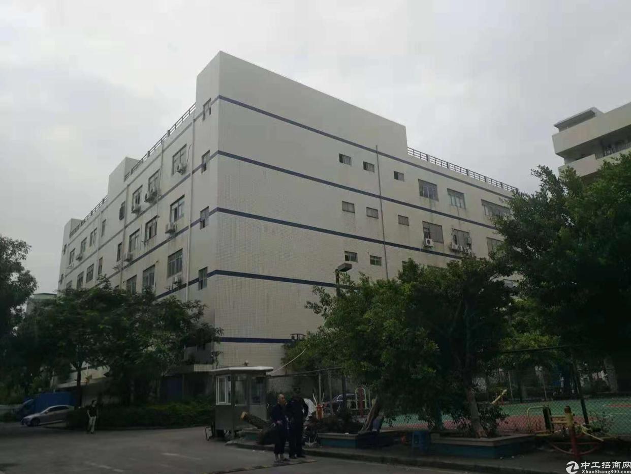 石岩汽车站附近楼上带装修300平米厂房出租