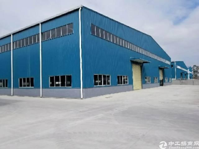 博罗县园洲镇10块钢构厂房2000平方急租