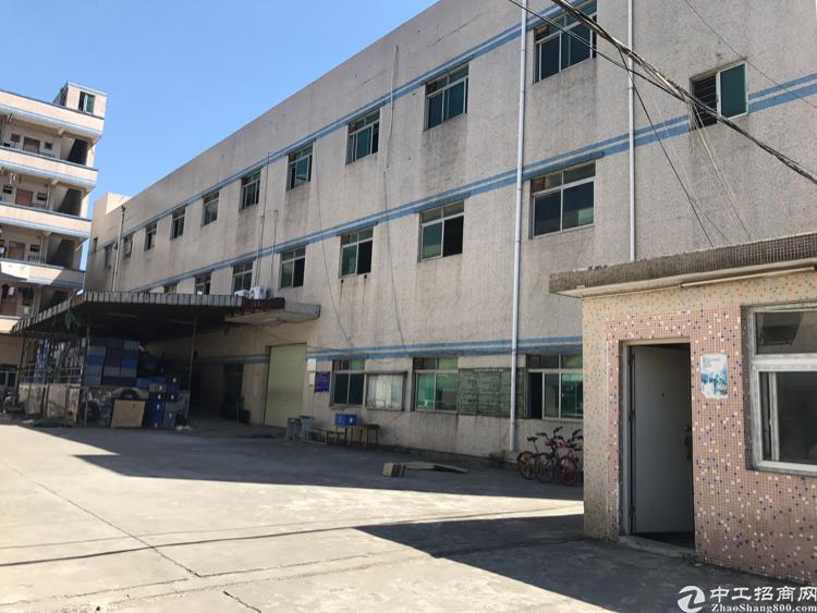 横岗六约地铁站附近一楼分租260平米厂房招租