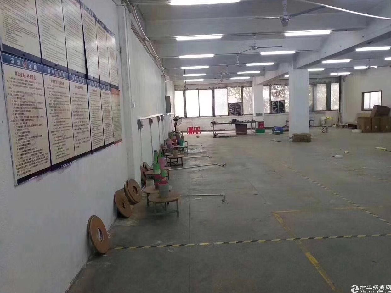 福永107国道边上新出600平厂房出租仅17块