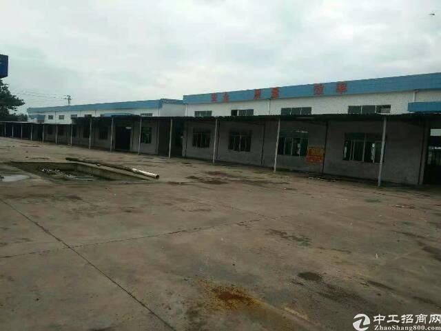 博罗县6000平米独院单一层厂房出租
