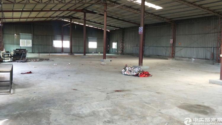 惠阳秋长钢构厂房500平出租