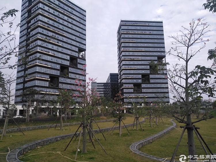 宝安松岗高速出口开发商全新红本写字楼出售50年产权独立红本可