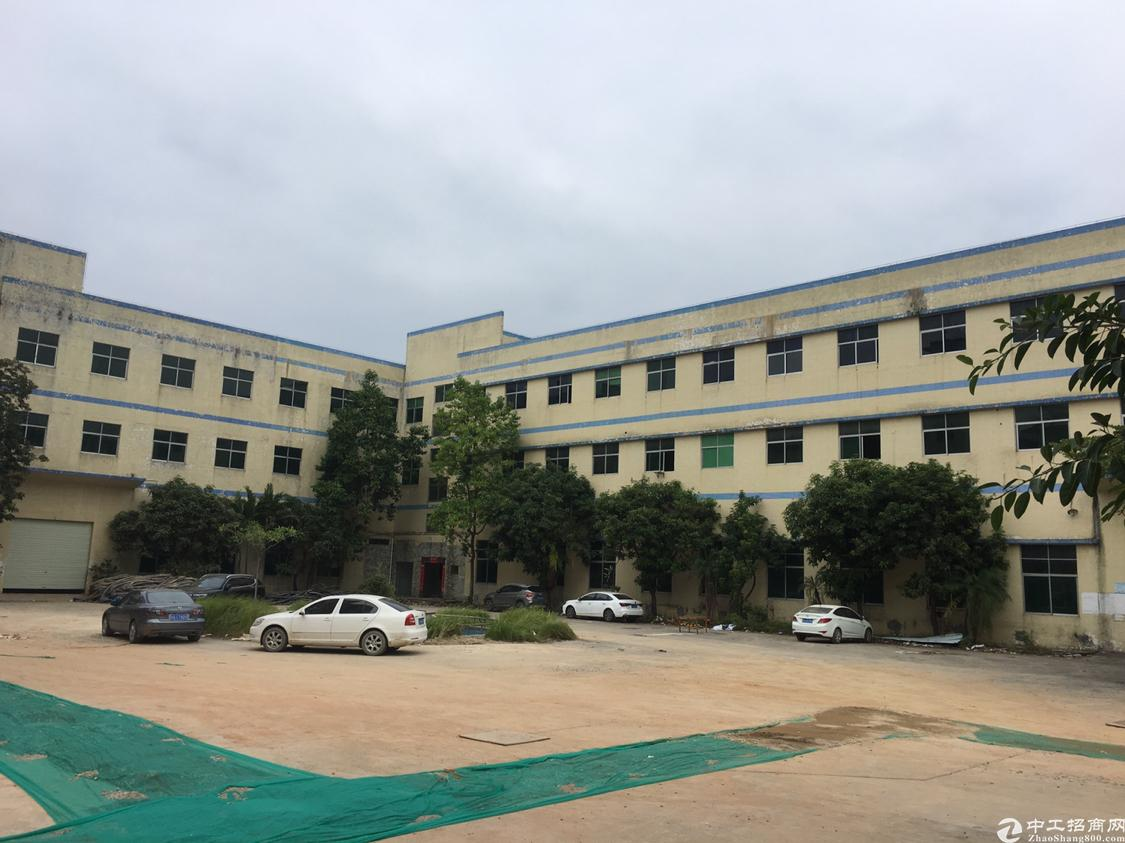福永凤凰超大空地独院厂房9000平方出租