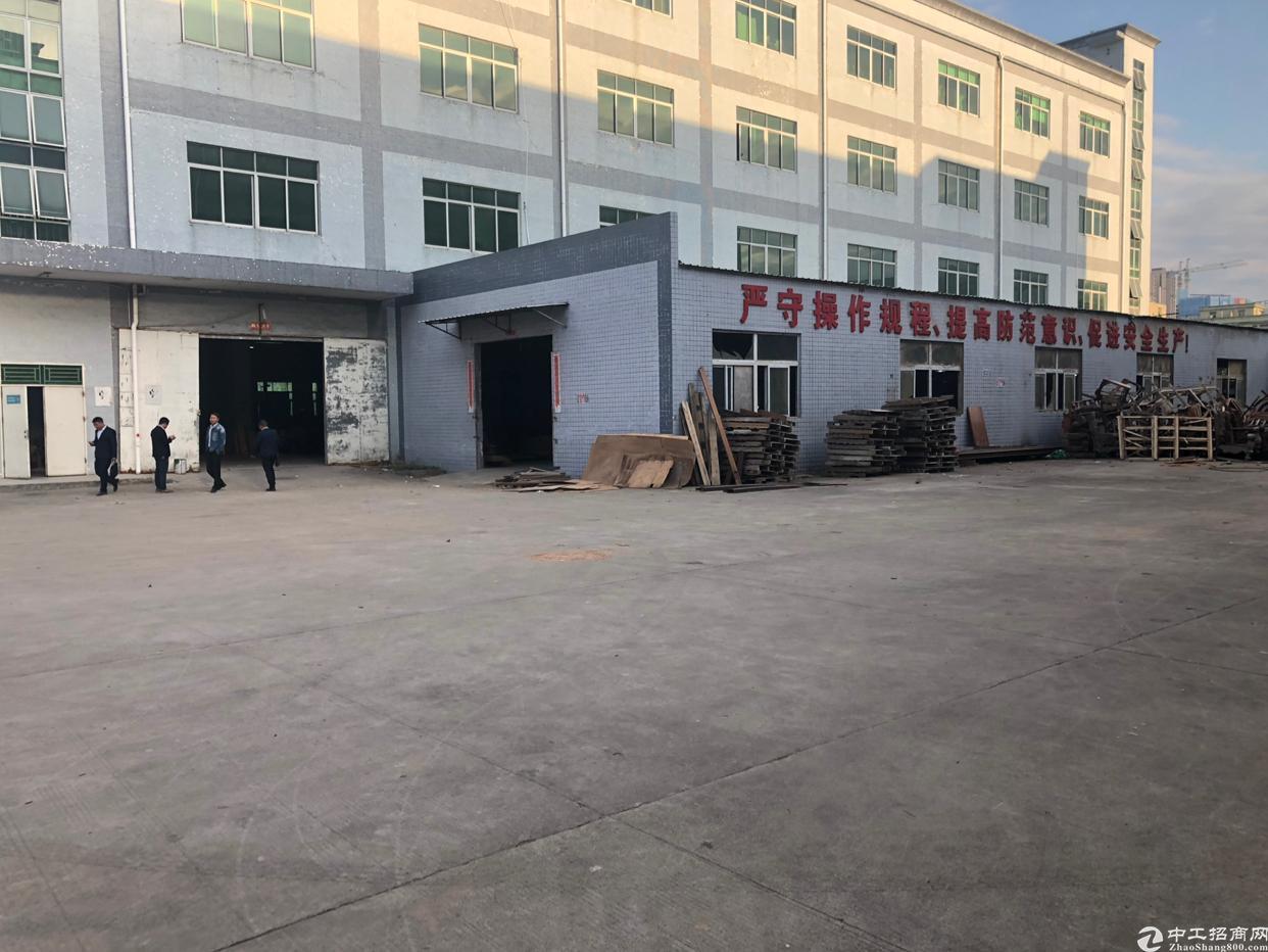 坪山天虹附近厂房一楼2500平方米高5米可分租