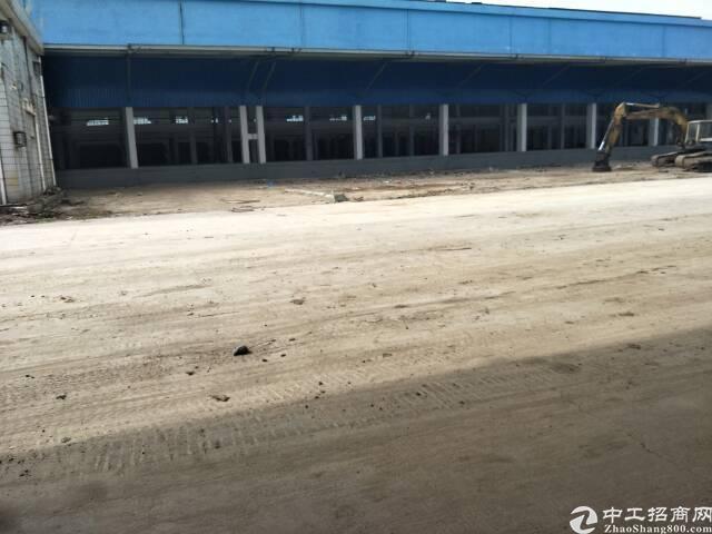 麻涌新沙港独门独院高台仓金钢砂地面