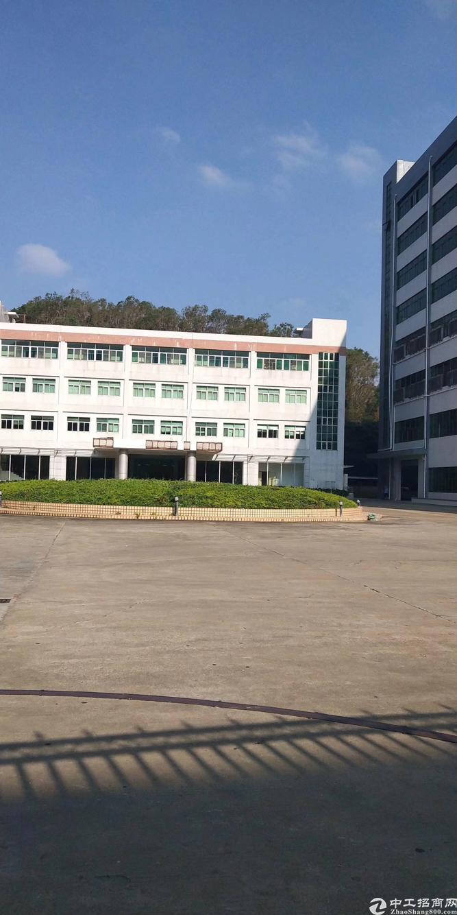 横岗红本独院,整体翻新建筑面积87000平可分租,有喷淋卸货