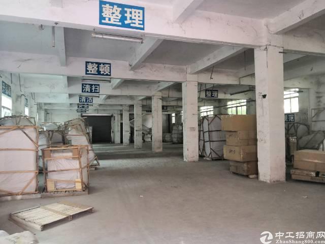 横岗安良新出大路边独门独院独栋厂房1-3层3540平,一楼层