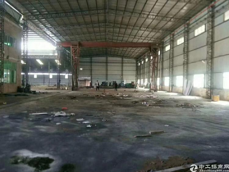 凤岗新出10米高单一层钢结构厂房面积约12000平