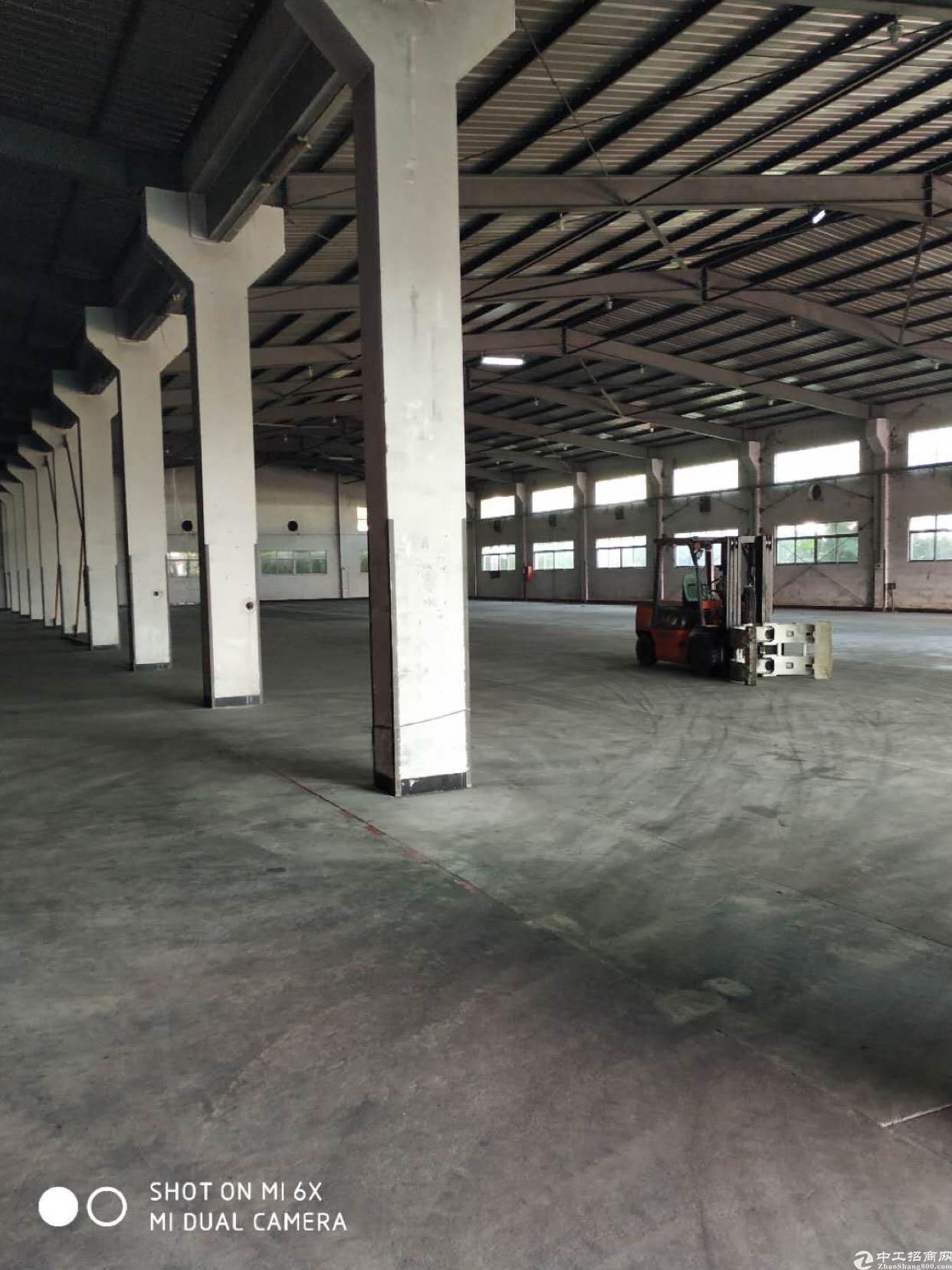 宝安机场边新出1万2千平钢结构