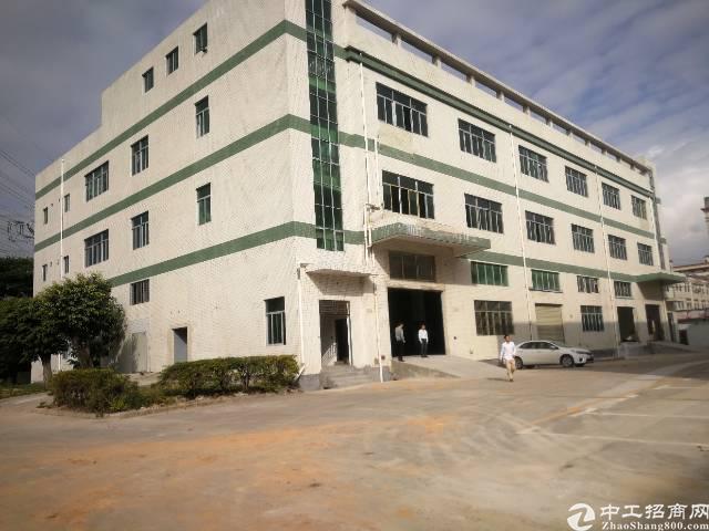 福永107国道边独栋厂房7200平方出租