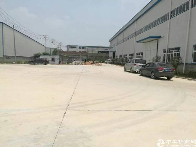 蔡甸开发区2100平米钢结构厂房,带行车,配套设施全