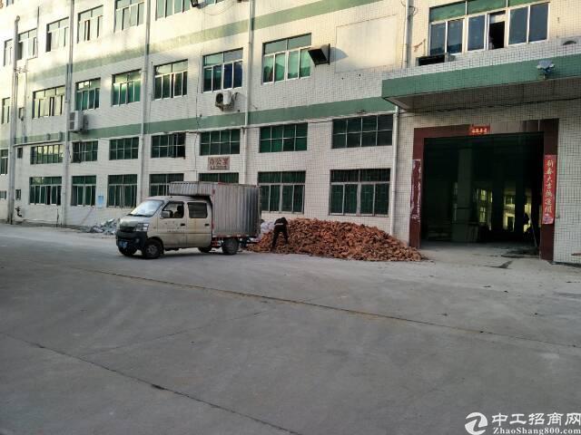 沙井共和工业园区独院厂房出租一楼2500平6米高采光好