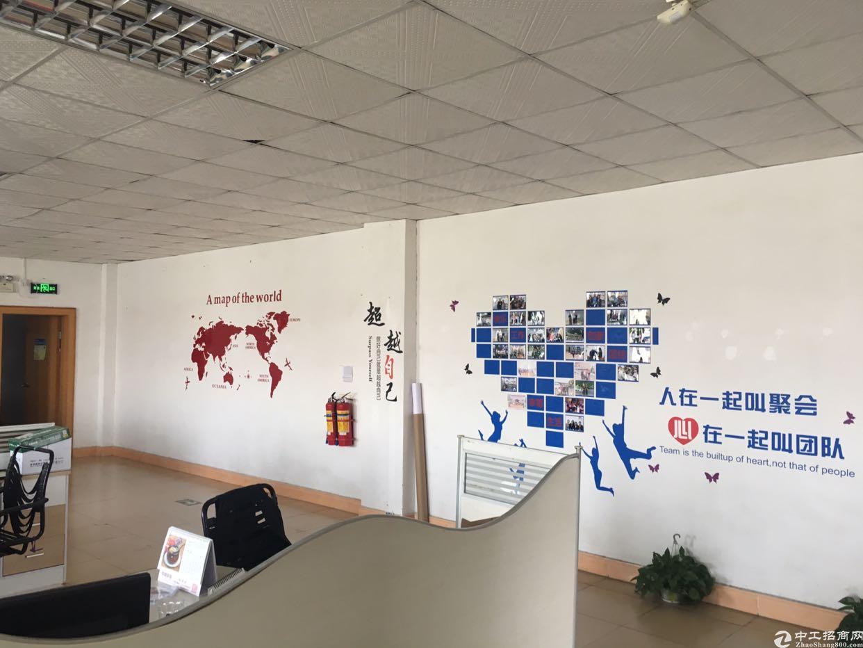 坪山碧岭沙湖社区三楼豪装办公室800平可分租