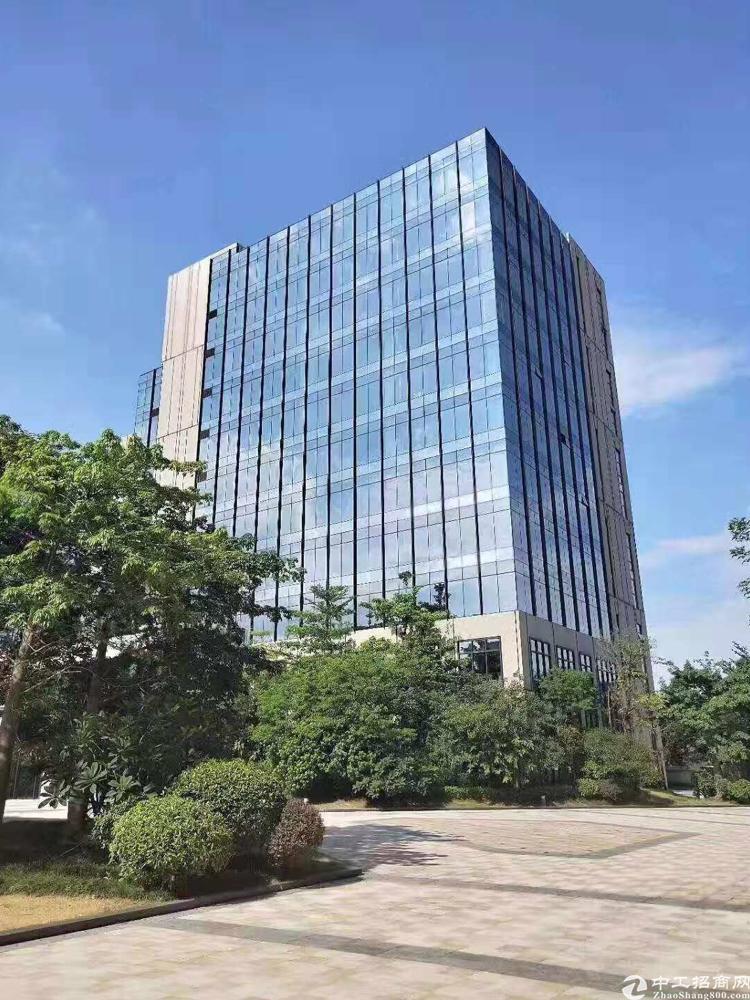 宝安双免费高速出口双地铁单价26000起高端写字楼