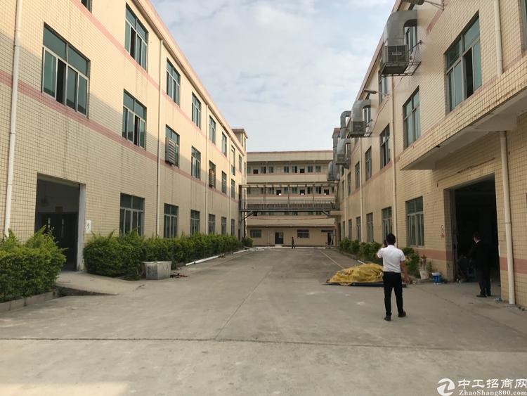 龙岗南联原房东独院厂房3600平方出租,可分租