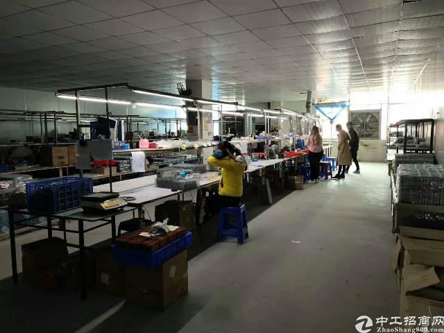 西乡簕竹角,楼上新出厂房1350平,带装修,无需转让费-图3