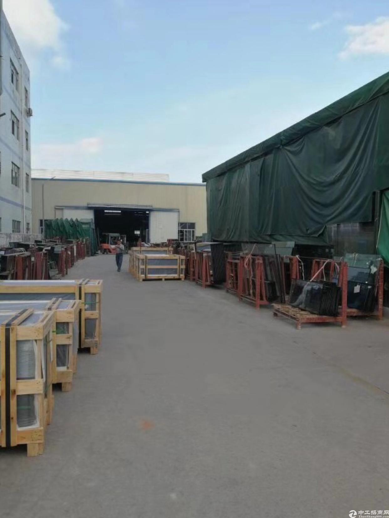 坪山坑梓钢结构厂房2850平出租带行车