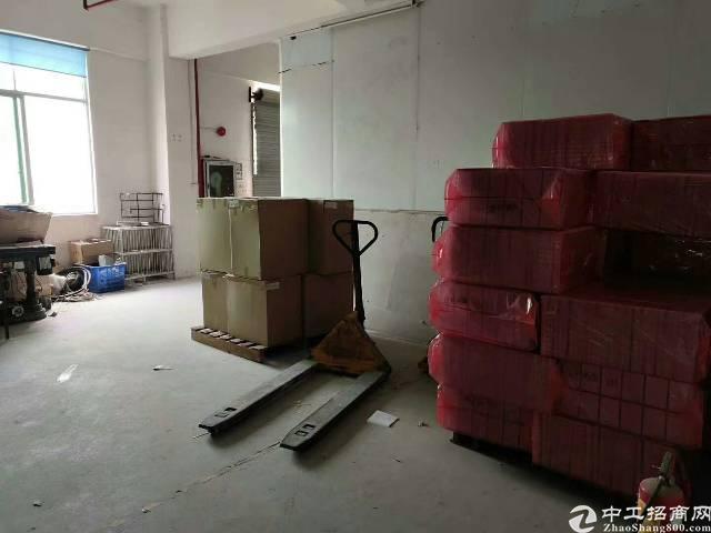 西乡簕竹角,楼上新出厂房1350平,带装修,无需转让费-图2