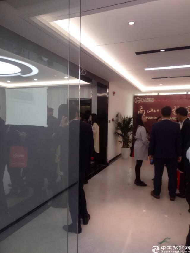 福永桥头创客中心国际商务大厦精装办公室出租350平方