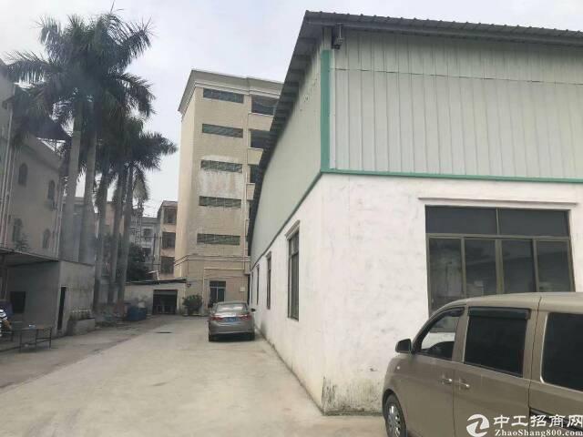 博罗县观音阁新空出钢结构厂房出租独栋约三千平方