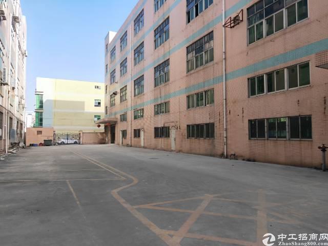 福永桥头红本独院厂房6000平米实际面积出租