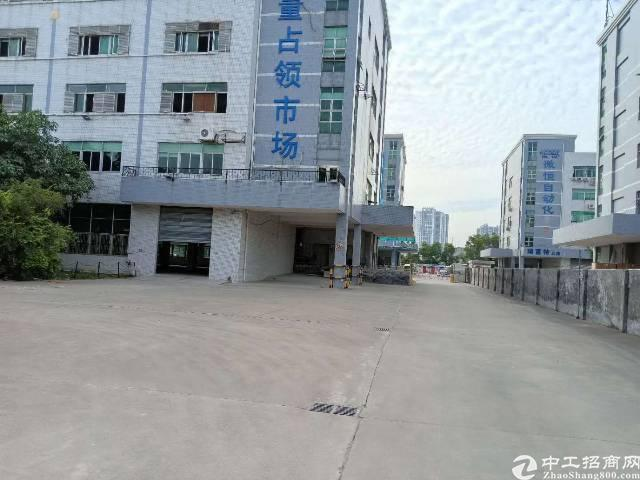 平湖清平高速出口新出6800平方独院厂房招租(带红本)