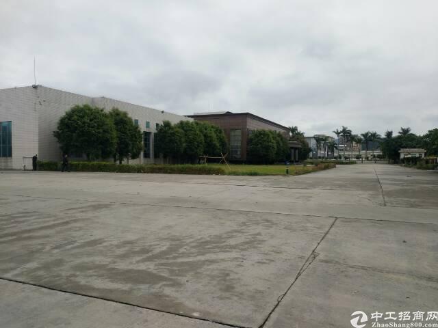 佛山三水镇66000平米钢构可做物流仓库厂房出租