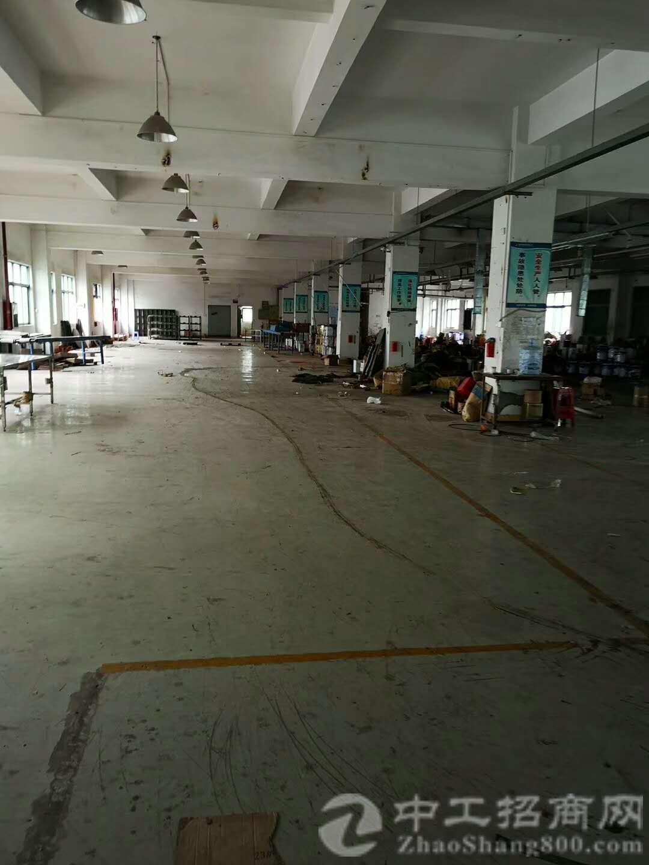 塘厦近深圳和高速1公里独院厂房8150平米可分租