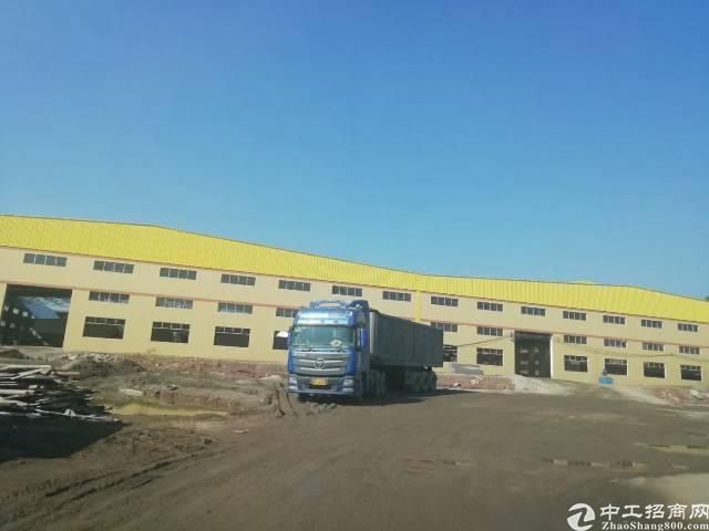 惠州市现有独门独院钢构单一层厂房招租超大空地