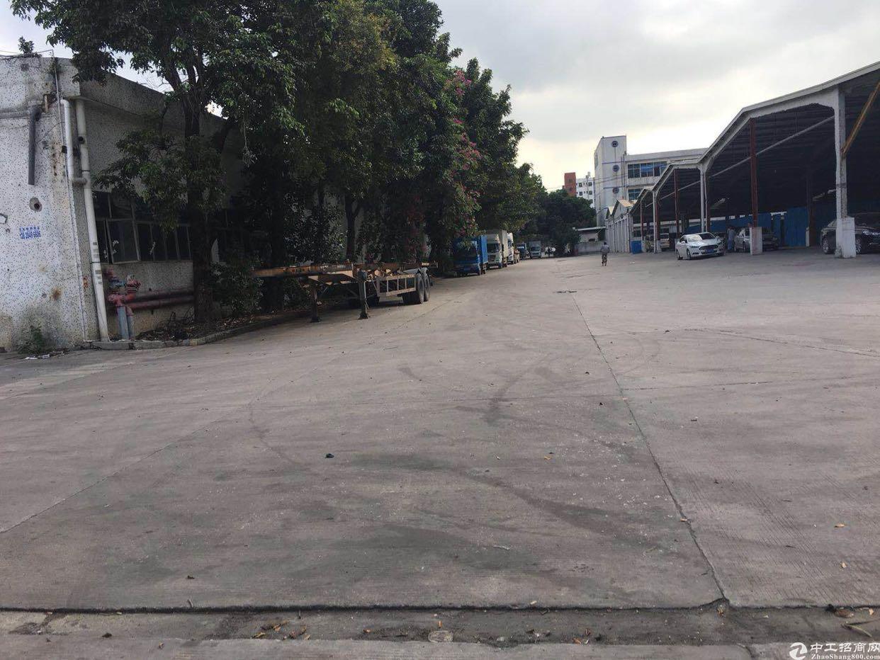 石岩松白路旁大型工业园区仓库出租5000平米