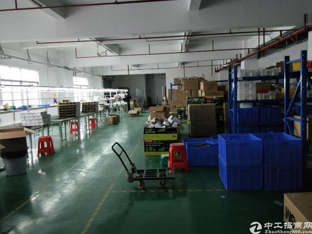 福永107国道边楼上精装修800平方厂房出租