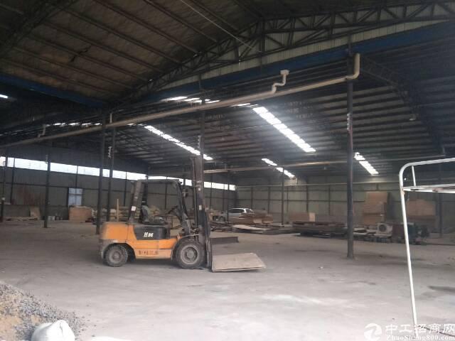 6元租汉口北一楼3000平钢结构厂房,可以生产,加工,仓储