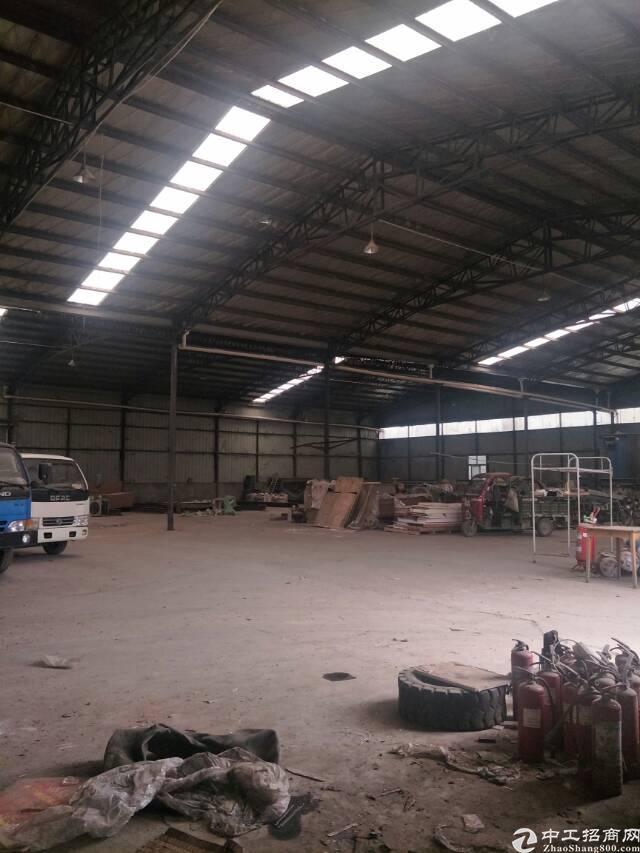 6元租汉口北一楼3000平钢结构厂房,可以生产,加工,仓储-图3