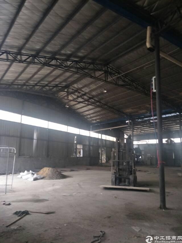 6元租汉口北一楼3000平钢结构厂房,可以生产,加工,仓储-图2
