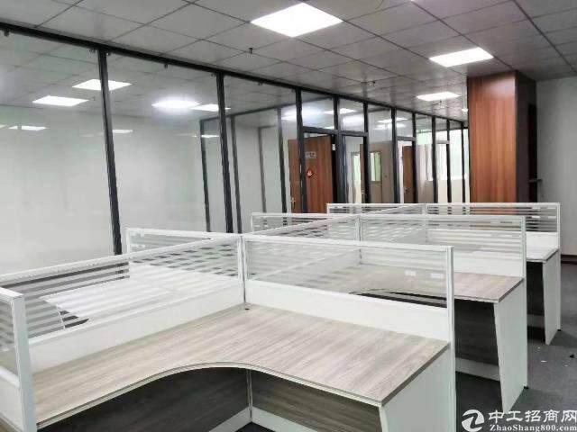 西乡全新装修三万平写字楼出租70平起租图片2