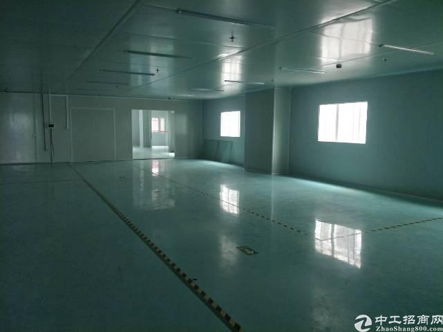 东城温塘新出楼上无尘车间1620平方,只租15元