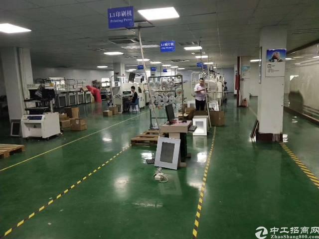 石岩应人石香象工业园3楼1000平方厂房出租