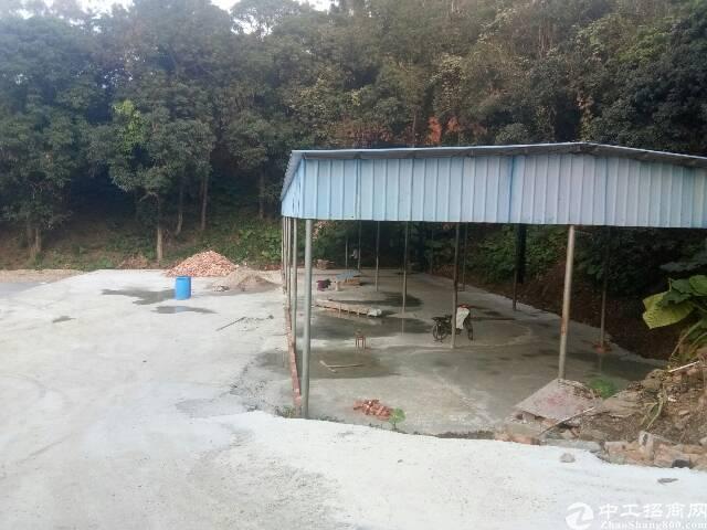 清溪靠山边出租厂房400平方