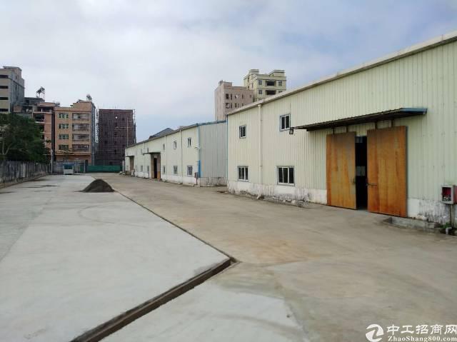 惠州博罗龙华新出钢构厂房7500平方