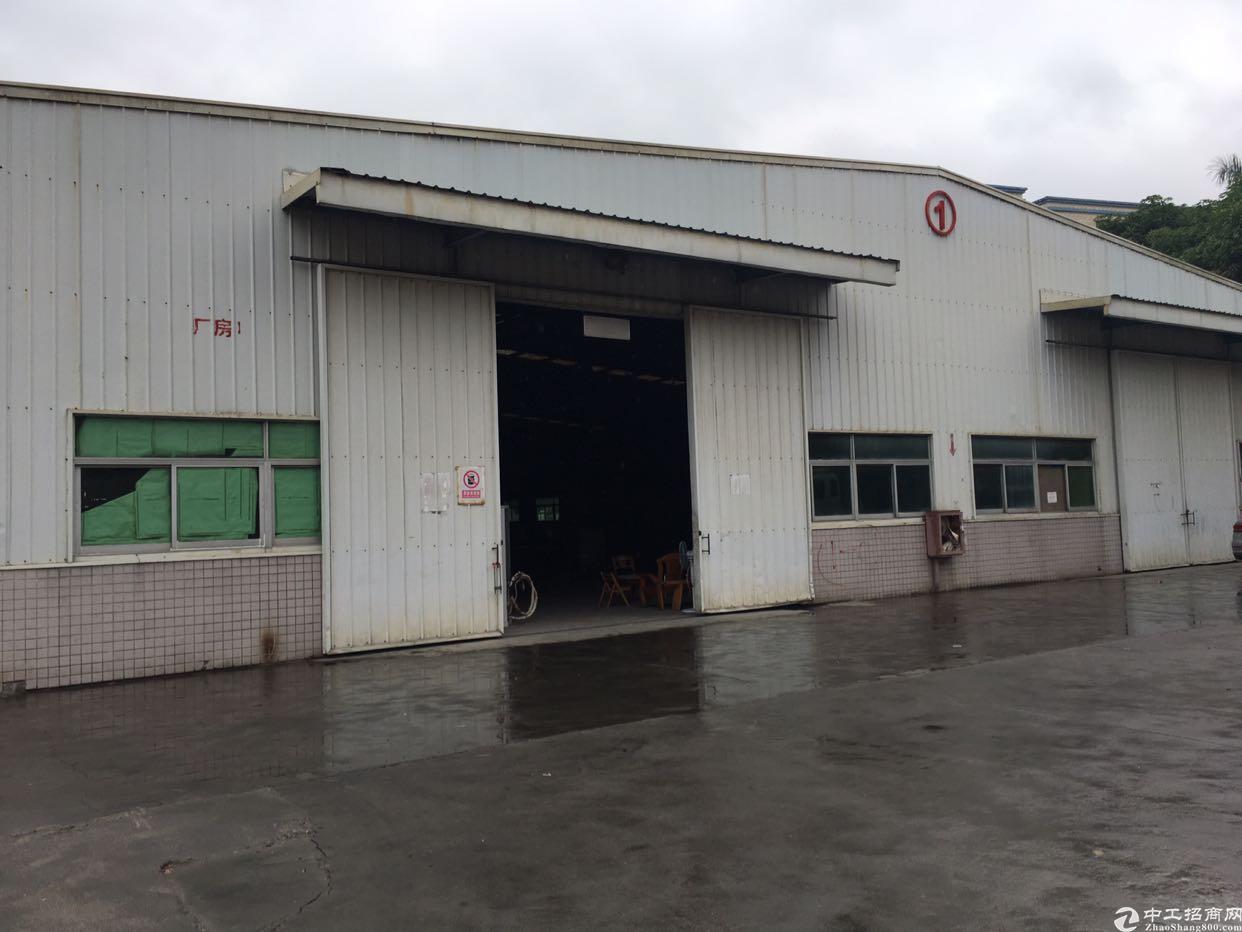 坪山独院钢构4000平高9米17米拖头直接开进仓库