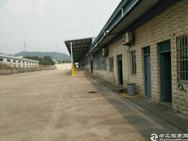 石岩新出4000平滴水8米有卸货平台仓库出租