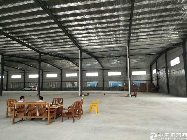 沙井和一9米高标准钢构6300平有办公室阁楼